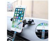 Bakeey Universal 360 Degree Rotation Suction Cup Car Phone Holder Cradle for Phone Under 6 inchs 9SIAF737BV1496