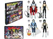 KISS Unmasked 3 3/4-Inch Action Figures Deluxe Box Set - Convention Exclusive 9SIAF6X73F0775