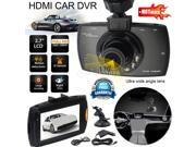 Vehicle Car Dash Camera Video DVR Cam Recorder 1080P 150 degree 2.7 LCD with Night Vision LED