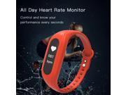 2017 hot sell fitness tracker heart rate smart bracelet waterproof 9SIAFAU6NY0486