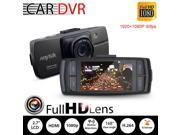 Car Dash Cam- Full HD 1080p 148 Wide Angle Lens Car Dashboard Camera Recorder DVR with G-Sensor- WDR- Loop Recording- Night Vision