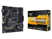 ASUS AMD Ryzen AM4 DDR4 HDMI DVI VGA M.2 USB 3.1 MicroATX B350 Motherboard (TUF B350M-PLUS GAMING)