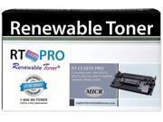 RT 87X CF287X PRO Compatible MICR Toner Cartridge for Check Printing for HP LaserJet Enterprise M506, M527 series printers