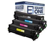 eSquareOne Compatible Toner Cartridge Replacement for HP 305X CE410X 305A CE411A CE412A CE413A (Black, Cyan, Yellow, Magenta)