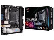 ASUS ROG STRIX X370-I GAMING AMD Ryzen AM4DDR4 M.2 mini-ITX X370 Motherboard with onboard 802.11ac WiFi, Gigabit LAN and USB 3.1