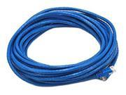 Monoprice 30FT 24AWG Cat6 550MHz UTP Ethernet Bare Copper Network Cable - Blue
