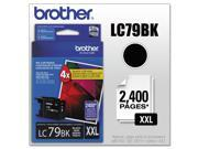 Genuine Brother 3 X LC-79BK Super High Yield (XXL) Cartridge Ink
