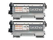 Brother TN420 (TN-420) Black Toner Cartridge, 2-Pack