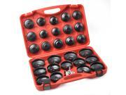 Auto Cup Type Oil Filter Cap Wrench Socket Removal Tool Set W/case 30Pcs Pro 9SIAFJS7696688