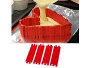 Silicone Cake Mold Baking Tools DIY Multi-shape Cake Mold Kitchen Accessories,4 PCS DIY Cake Mold 9SIAFJU6SY3668