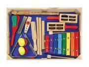 Melissa & Doug Deluxe Band Set With Wooden Musical Instruments and Storage Case 9SIAD247B04879