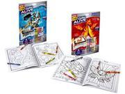 Crayola Color Alive Action Coloring Pages - Combo Set - Skylanders and Mythical Creatures 9SIAD247AZ6878