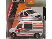 Matchbox 2014 MBX Heroic Rescue Renault Master Ambulance 80/120 Short Card