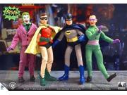 Batman Classic TV Series 8 Inch Action Figures Series 1: Complete Set of all 4 Figures 9SIAD247AY3789