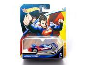 Hot Wheels, 2015 DC Comics Character Car, Superman Man of Steel Die-Cast Vehicle, 1:64 Scale 9SIAD247AZ1108