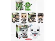 Funko GHOSTBUSTERS 4pc POP FIGURE SET with 3.75 SLIMER - RAYMOND STANTZ - PETER VENKMAN  6 STAY PUFT MARSHMELLOW 9SIAD247AZ0706