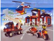 Lego 6478 City Center Fire Fighters' HQ