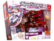 Hasbro Year 2005 Transformers Cybertron Series Speed Planet Voyager Class 8 Inch Tall Robot Action Figure - Decepticon DARK CRUMPLEZONE with Double-Barreled Lau 9SIAD247AZ1187