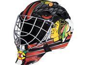 Franklin Sports NHL League Logo Chicago Blackhawks Mini Goalie Mask 9SIAD247AV8093