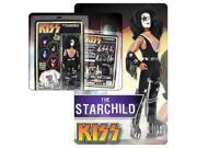 KISS Retro 12 Inch DELUXE Poseable Action Figure Series 1 The Starchild 9SIAD247B05064