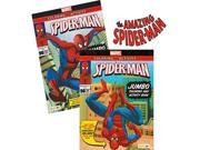 Spider-man Coloring  Activity Book Set (2 Books ~ 96 pgs each) by Marvel Comics 9SIAD247AZ4690