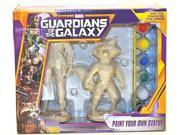 Guardians of the Galaxy Star-lord/rocket Racoon Paint Your Own Statue 9SIAD247AY7067