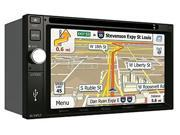 Jensen VX7020 6.2 inch LCD Multimedia Touch Screen Double Din Car Stereo Receiver with Built-In Navigation, Bluetooth, CD/DVD Player & USB/microSD Ports 9SIV0H27DZ4358