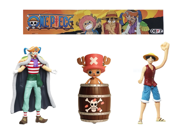 Official One Piece Baggy, Chopper and Luffy Action Figure Set 9SIAFU26WB3180
