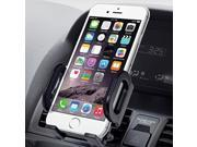 Jarv Premium Flexible Air Vent for Apple iPhone X 8 7 6S 6 Plus ; Samsung Galaxy S8 S7 S6, Galaxy Note 8 5 Edge Plus Phones w/Cushioned Car Mount Holder (with o