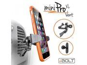 iBOLT miniProXL Vent Universal Car mount / Holder - Comes with 2 mounting options (Air Vent and adhesive mount)- works with iPhone X / 8 / 8 plus / 7 , Samsung