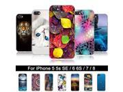 Silicone Case for iPhone 6 6 s Soft TPU Back Phone Cover Case for iPhone 5 5s SE Print Protector Cases For iPhone 7 8 Shells Bag 9SIAFZ46ZV3204
