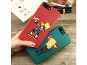 5PLUS   Arival Luxury Simpson Cartoon Phone Case For iphone X 6 7 8 6S Plus Cover Leather Skin X SUP Silicone Bumper Coque 9SIAFZ46ZV3933