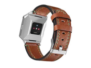 For Fitbit Ionic Newest Genuine Leather Replacement Watch Strap Fashion