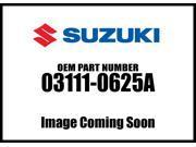 Suzuki Screw 03111-0625A
