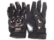 PRO-BIKER Rock Black Short Sports Leather Motorcycle Motorbike Racing Gloves 9SIAG9573T4507