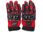 PRO-BIKER Rock Black Short Sports Leather Motorcycle Motorbike Racing Gloves 9SIAG9573T8668