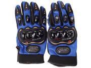 PRO-BIKER Rock Black Short Sports Leather Motorcycle Motorbike Racing Gloves 9SIAG9573T8679