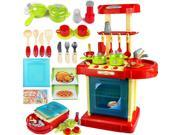 1set Portable Red Electronic Children Kids Kitchen Cooking Boy Toy Cooker Play Set 9SIAGDJ7ZW5549