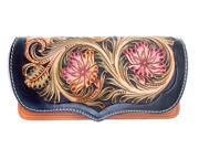 Genuine Retro leather handmade carving floral women purse wallet (9SIAGE17955518 703694000652 Rossie Viren) photo