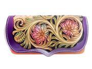Genuine Retro leather handmade carving floral women purse wallet (9SIAGE17955522 703694000669 Rossie Viren) photo