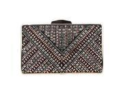 Fawziya Women Purses Bling Crystal Rhinestone Evening Clutch (9SIAGEP7FR5673 E1858Black) photo