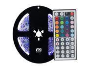 Image of 5M Strip Light 44Key Remote Control Flexible LED White Light Strips