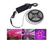 Image of LED Grow Lights Growing LED light Strip 5050 IP65 Plant Growth Light for Greenhouse Hydroponic plant 5m/lot AC100-240V