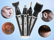 Nose Trimmer 4 In1 Rechargeable Electric Ear Nose Hair Trimmer Beard Eyebrows Removal Shaver Flawless Hair Remover 9SIAGG07E86434