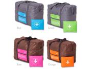 Travel Storage Aircraft Bag Collapsible Storage Bag Waterproof Travel Bag Shoulder Bag (Random Color) 9SIAGG07KF2403