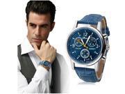 Luxury Wrist Bracelets Fashion Crocodile Faux Leather Watch for Men Business Analog Wristwatch 9SIAGG17DZ3841