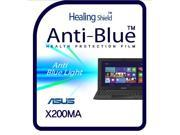Healingshield Screen Protector Eye Protection Anti UV Blue Ray Film for Asus Laptop X200MA 9SIAGHX7GS1757