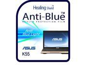 Healingshield Screen Protector Eye Protection Anti UV Blue Ray Film for Asus Laptop K55 9SIAGHX7GS2004