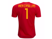 2018-19 Spain Home Shirt (Iker Casillas 1)