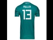 2018-2019 Germany Away Adidas Football Shirt (Muller 13)